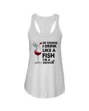 Drink like a fish  Ladies Flowy Tank thumbnail