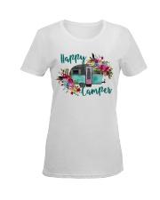 HAPPY CAMPER Ladies T-Shirt women-premium-crewneck-shirt-front