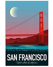 SAN FRANCISCO 11x17 Poster front