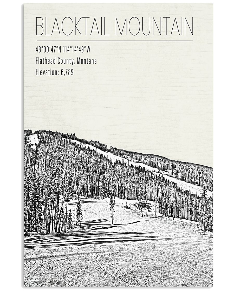 BLACK TAIL MOUNTAIN POSTER 16x24 Poster