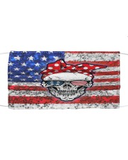 AMERICAN SKULL Cloth face mask front