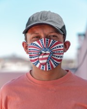 Tongue and Lips 4t Of July American Flag Cloth face mask aos-face-mask-lifestyle-06