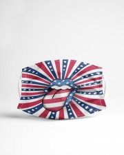 Tongue and Lips 4t Of July American Flag Cloth face mask aos-face-mask-lifestyle-22