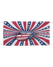 Tongue and Lips 4t Of July American Flag Cloth face mask front
