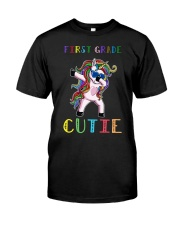 FIRST GRADE CUTIE UNICORN  Classic T-Shirt thumbnail