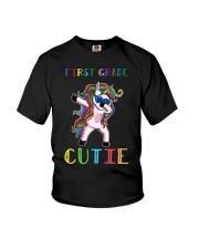 FIRST GRADE CUTIE UNICORN  Youth T-Shirt thumbnail