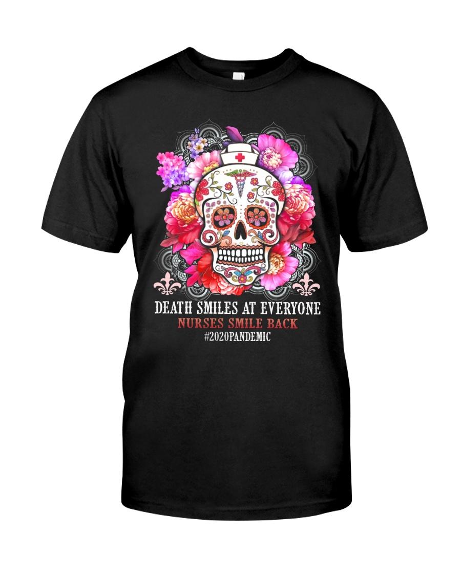 SUGAR SKULL NURSE HOODIE Classic T-Shirt