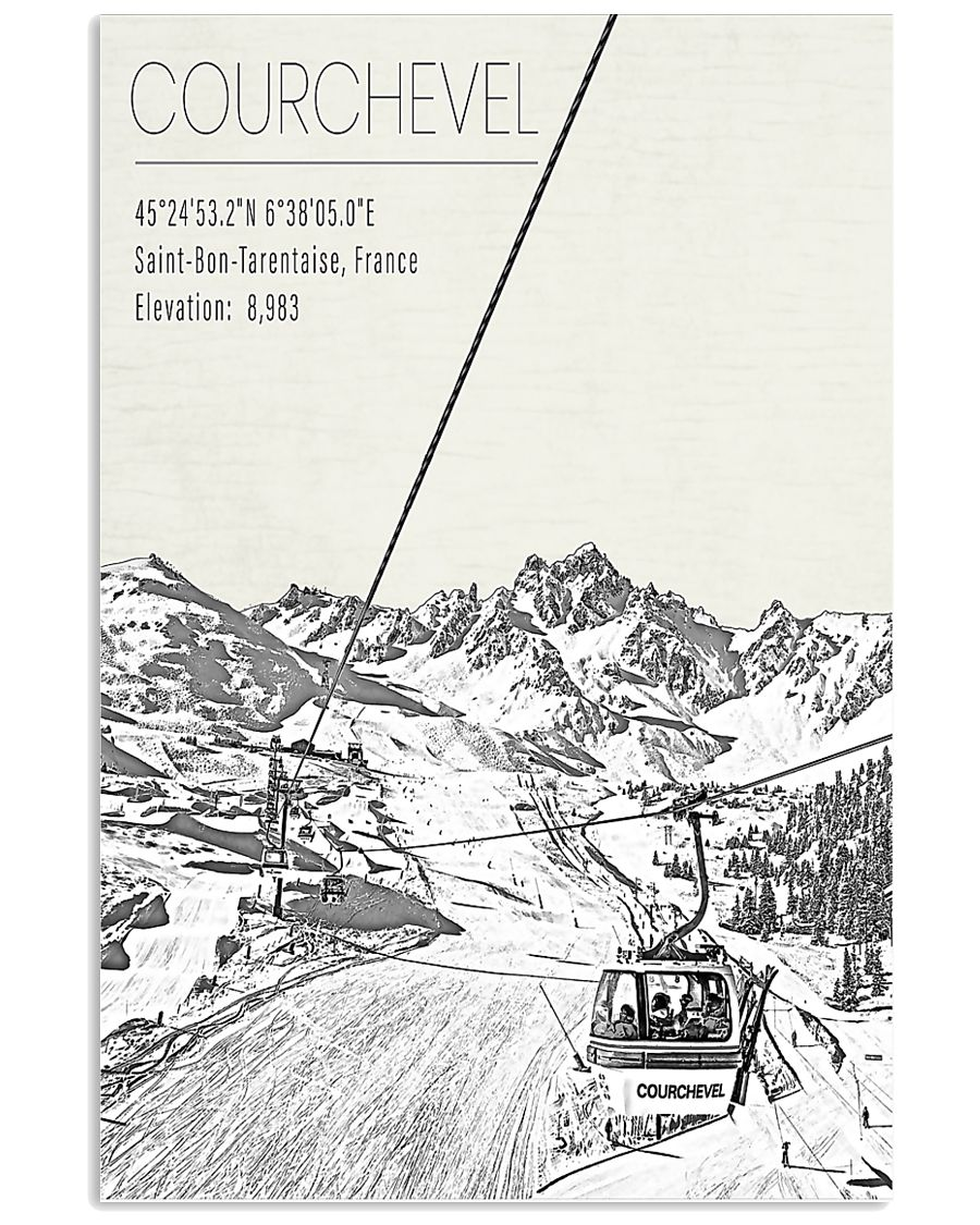 EUROPE COURCHEVEL POSTER 16x24 Poster