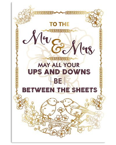MAY ALL YOUR UPS AND DOWNS BE BETWEEN THE SHEETS