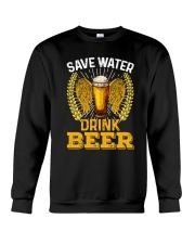 SAVE WATER DRINK BEER Crewneck Sweatshirt thumbnail