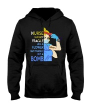 BLONDE NURSE T-SHIRT Hooded Sweatshirt thumbnail