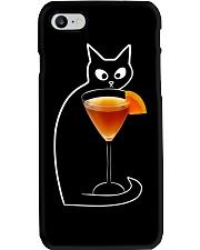 TEQUILA SUNRISE COCKTAIL CAT Phone Case thumbnail