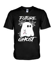 FUTURE GHOST V-Neck T-Shirt thumbnail