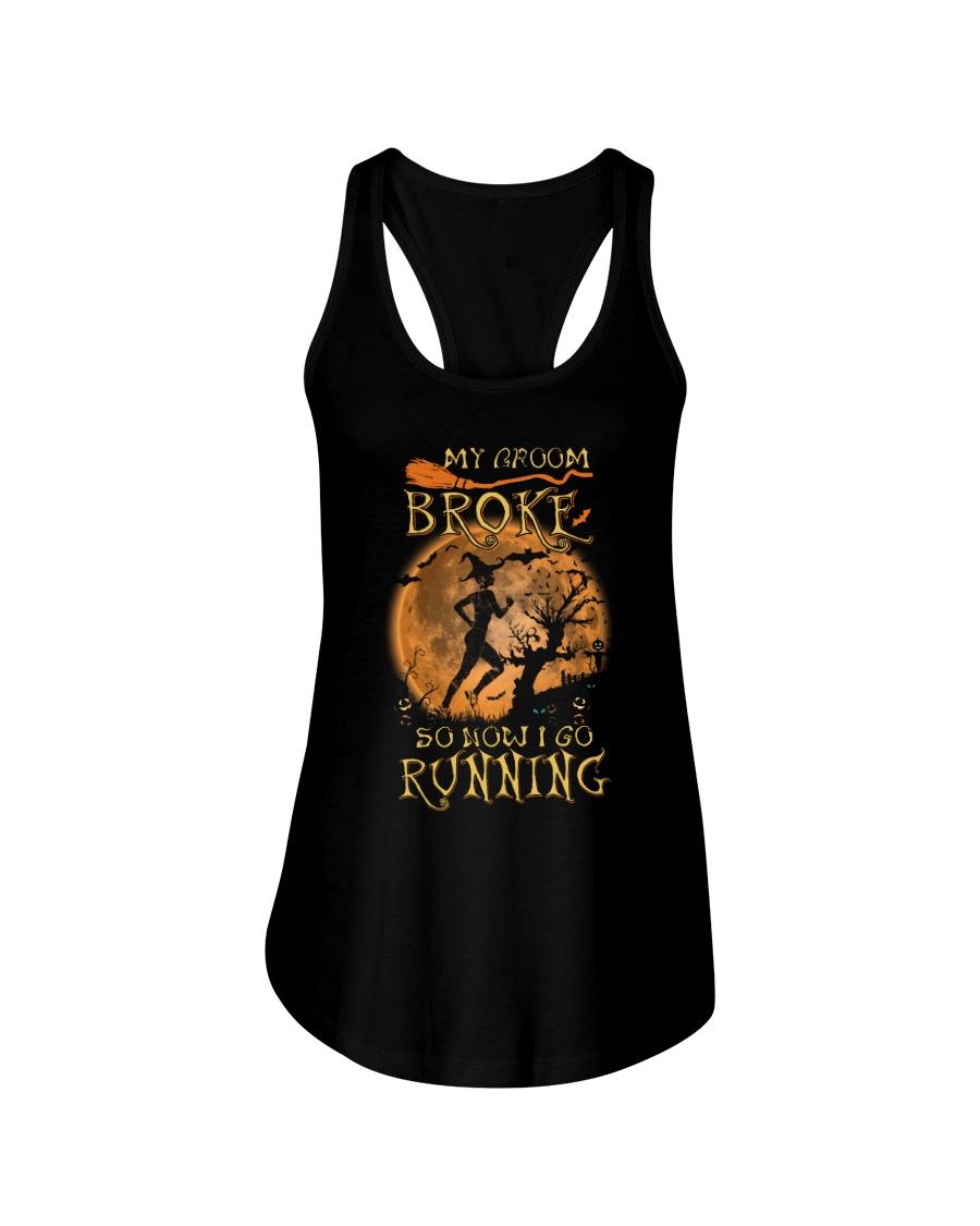 BROKE RUNNING Ladies Flowy Tank