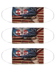 US FLAGS LVN 5 Cloth Face Mask - 3 Pack front
