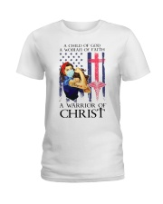 WOMAN OF FAITH Ladies T-Shirt thumbnail