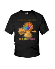 BE A HIPPIE WITCH Youth T-Shirt thumbnail