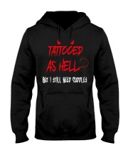 TATOOED T-SHIRT Hooded Sweatshirt thumbnail