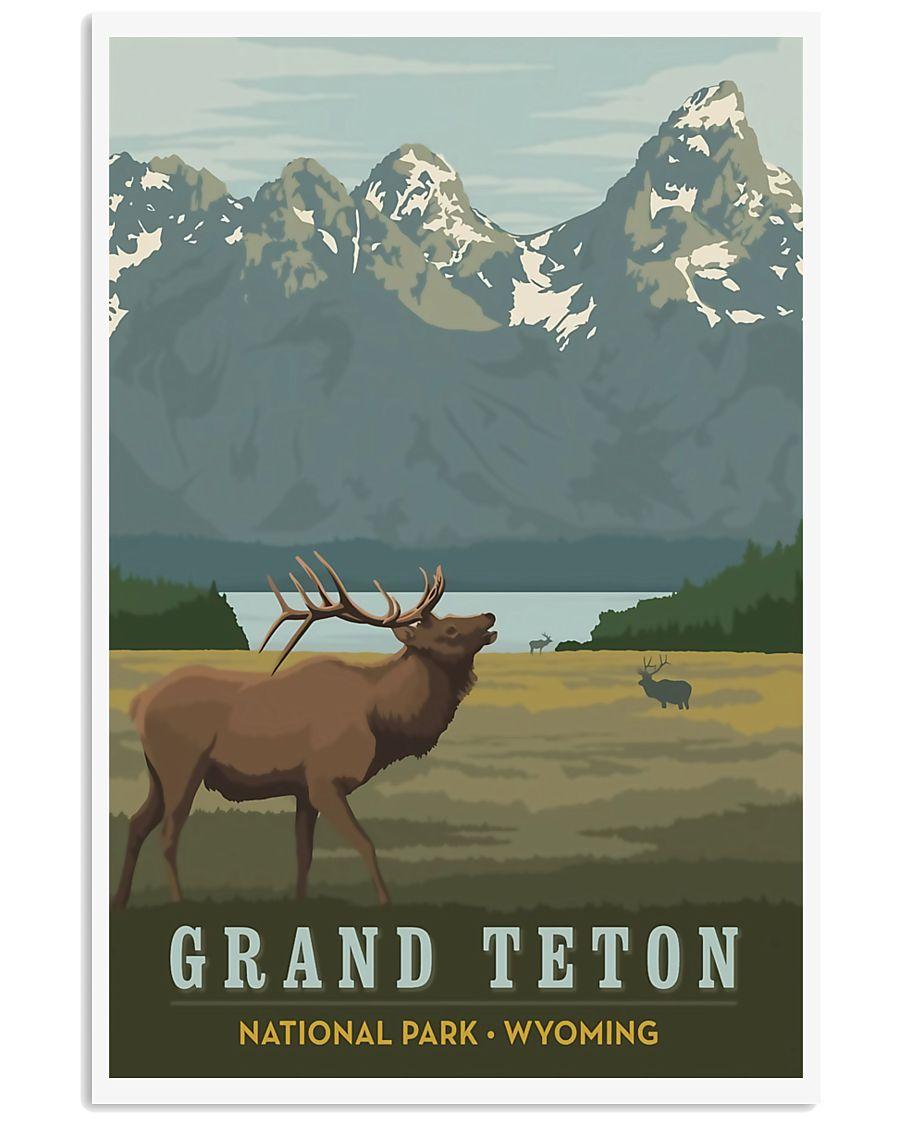 GRAND TETON 11x17 Poster
