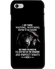 WOLF WATCHING T-SHIRT Phone Case tile