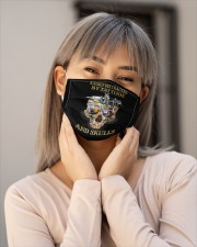 Easily Distracted By Tattoos And Skull Cloth Face Mask - 3 Pack aos-face-mask-lifestyle-17