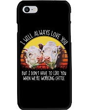 I WILL ALWAYS LOVE YOU Phone Case thumbnail