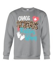 CHAOS SCRUBS RUBBER NURSE Crewneck Sweatshirt thumbnail
