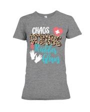 CHAOS SCRUBS RUBBER NURSE Premium Fit Ladies Tee thumbnail