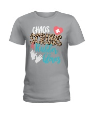 CHAOS SCRUBS RUBBER NURSE Ladies T-Shirt thumbnail