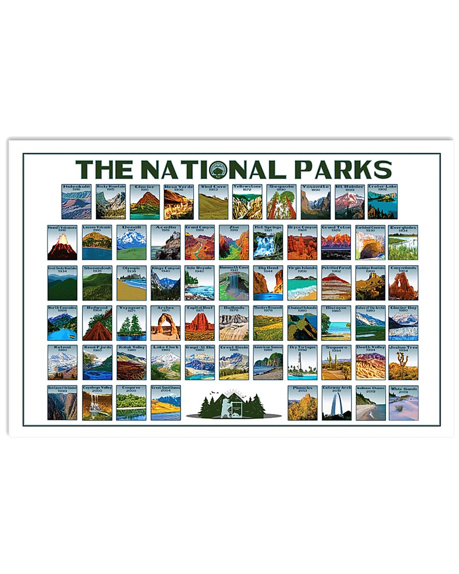 US 62 NPS  24x16 Poster