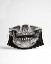 SMILE SKELETON Cloth face mask aos-face-mask-lifestyle-22