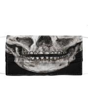 SMILE SKELETON Cloth face mask front