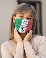 I'm Italian My Eyes Definitely Will Say It Cloth Face Mask - 3 Pack aos-face-mask-lifestyle-17