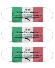 I'm Italian My Eyes Definitely Will Say It Cloth Face Mask - 3 Pack front