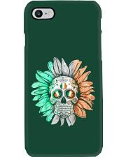 SKULL FLOWER T-SHIRT Phone Case thumbnail
