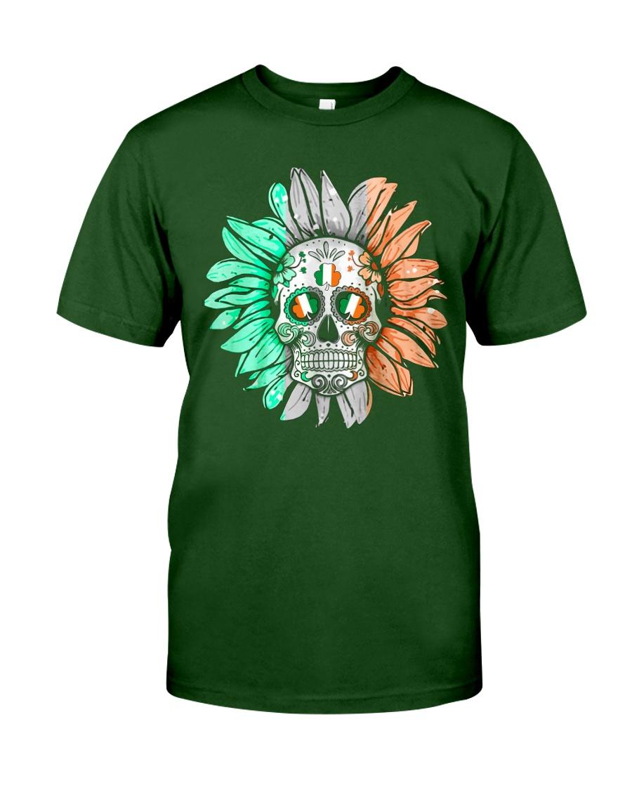 SKULL FLOWER T-SHIRT Classic T-Shirt