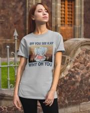 ELELPHANT EFF YOU Classic T-Shirt apparel-classic-tshirt-lifestyle-06