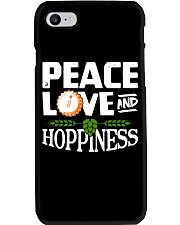 PEACE LOVE AND HOPPINESS Phone Case thumbnail
