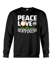 PEACE LOVE AND HOPPINESS Crewneck Sweatshirt thumbnail