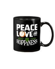 PEACE LOVE AND HOPPINESS Mug thumbnail