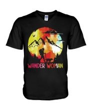 WANDER WOMAN V-Neck T-Shirt tile