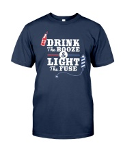 Great idea for 4th of July - Light the fuse Classic T-Shirt front