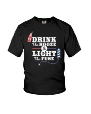 Great idea for 4th of July - Light the fuse Youth T-Shirt thumbnail
