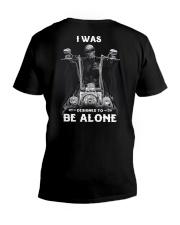 BE ALONE 2 T-SHIRT  V-Neck T-Shirt thumbnail