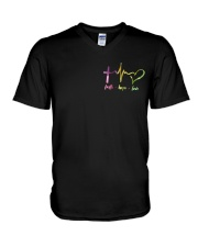 FAITH HOPE LOVE V-Neck T-Shirt thumbnail