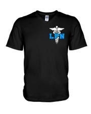 NURSE - LPN V-Neck T-Shirt thumbnail
