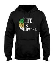 Life is brewtiful Hooded Sweatshirt thumbnail