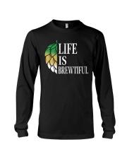 Life is brewtiful Long Sleeve Tee thumbnail