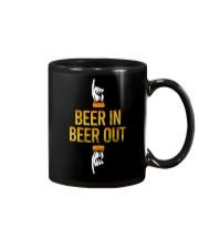 BEER IN BEER OUT Mug thumbnail