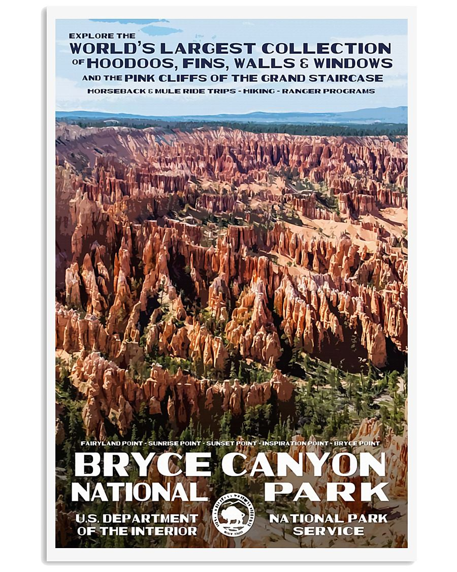 BRYCE CANYON 11x17 Poster